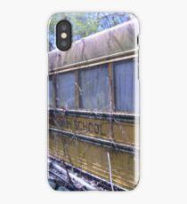 Abandoned Bus iPhone Case