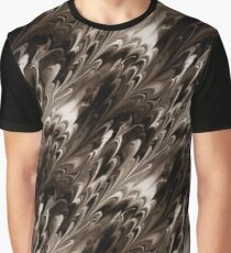 Sepia Northern Lights Graphic T-Shirt