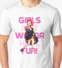 Cyndi Lauper - Girls Just Wanna Have Fun Unisex T-Shirt