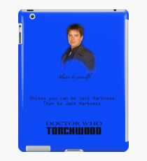 Be Jack Harkness from Doctor Who iPad Case/Skin