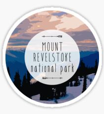 Mount Revelstoke National Park Sticker