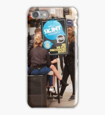 HERE TO HELP iPhone Case/Skin