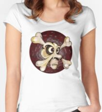 Crossbones Women's Fitted Scoop T-Shirt