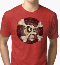 Crossbones Tri-blend T-Shirt