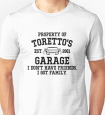 Toretto's Garage Unisex T-Shirt