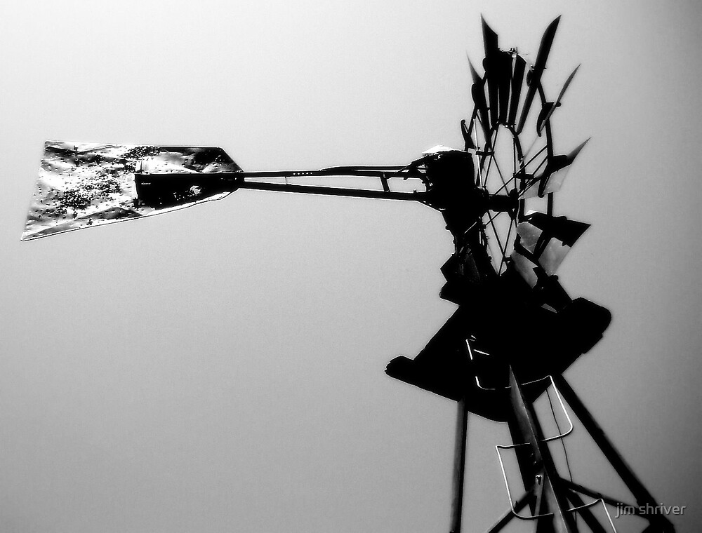 Wounded Windmill by jim shriver