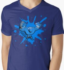 Brutes.io (Behemoth Cheer Blue) Men's V-Neck T-Shirt