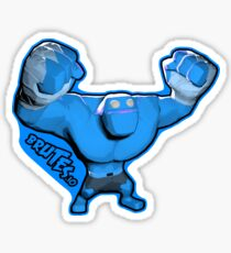 Brutes.io (Behemoth Cheer Blue) Sticker