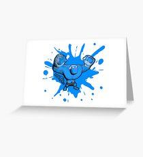 Brutes.io (Behemoth Cheer Blue) Greeting Card