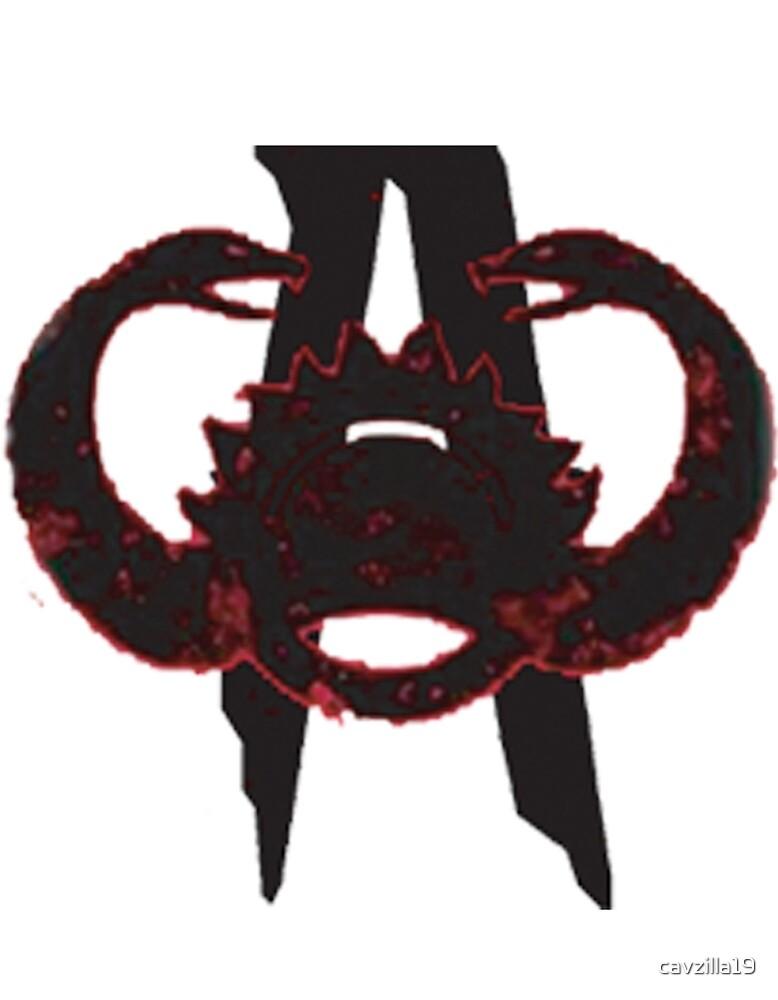 Alex Cavanagh 2 Snakes Logo By Cavzilla19