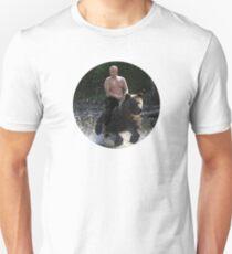 Putin riding bear Unisex T-Shirt