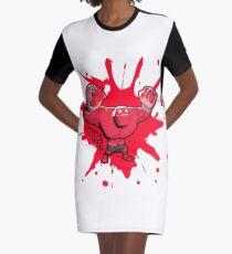 Brutes.io (Behemoth Cheer Red) Graphic T-Shirt Dress
