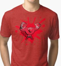 Brutes.io (Behemoth Cheer Red) Tri-blend T-Shirt
