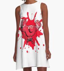 Brutes.io (Behemoth Cheer Red) A-Line Dress