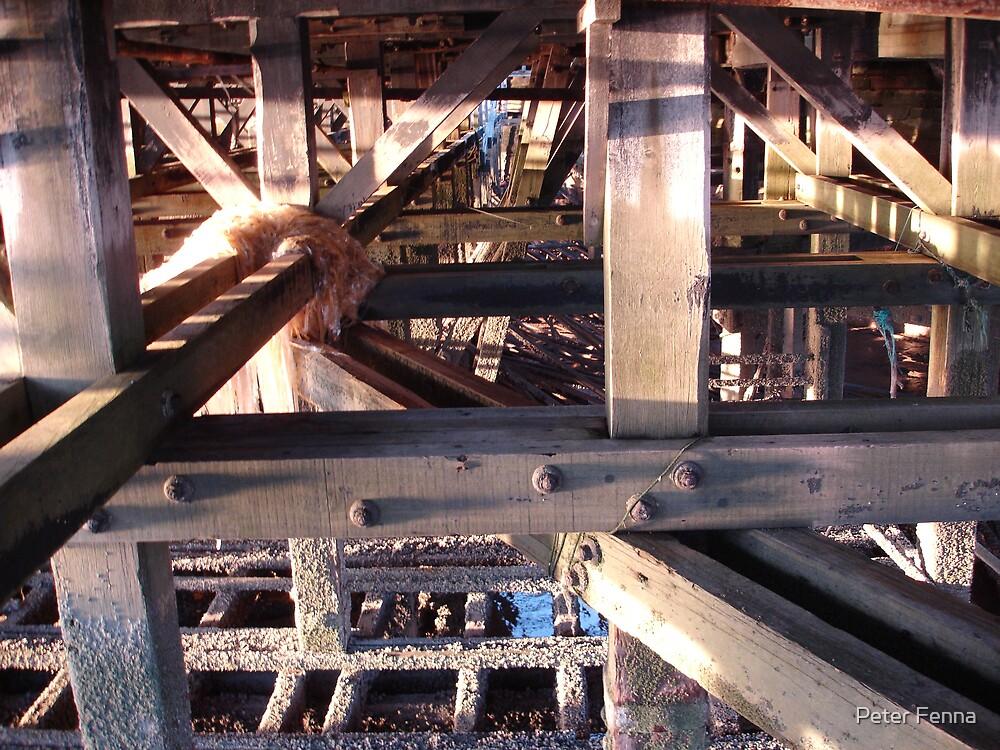 Under the pier 4 by Peter Fenna