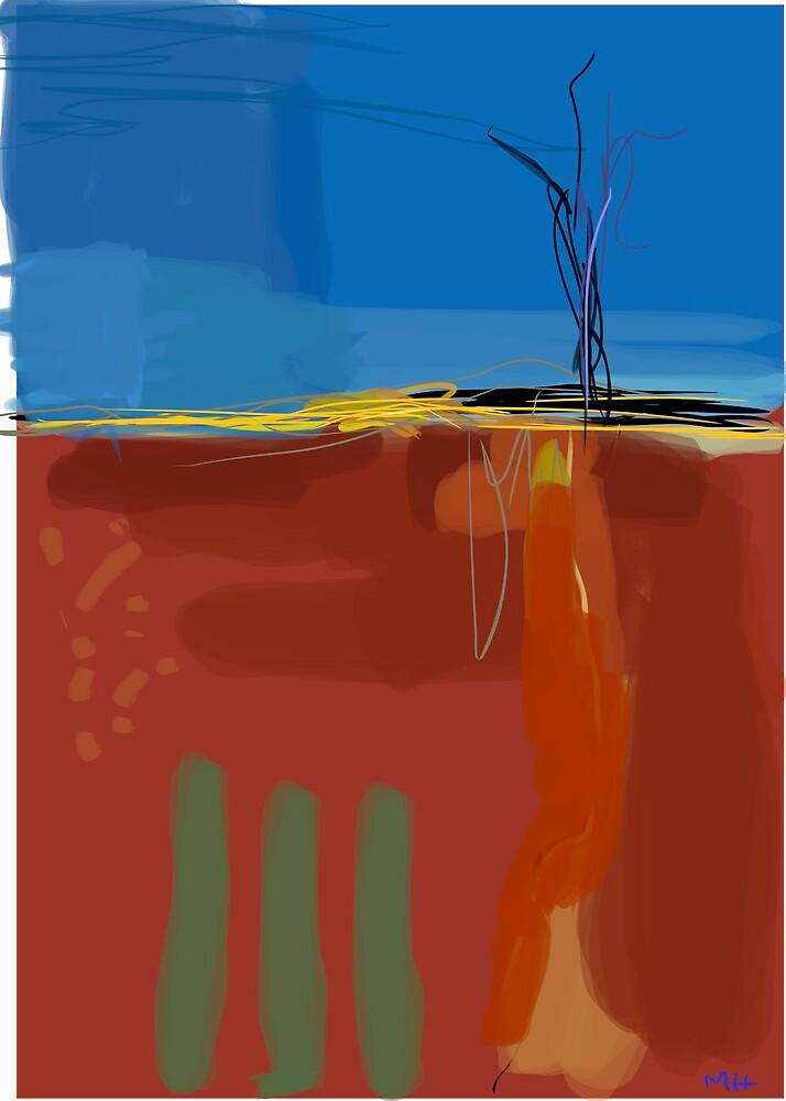 Outback Landscape 1 by Martin Howard