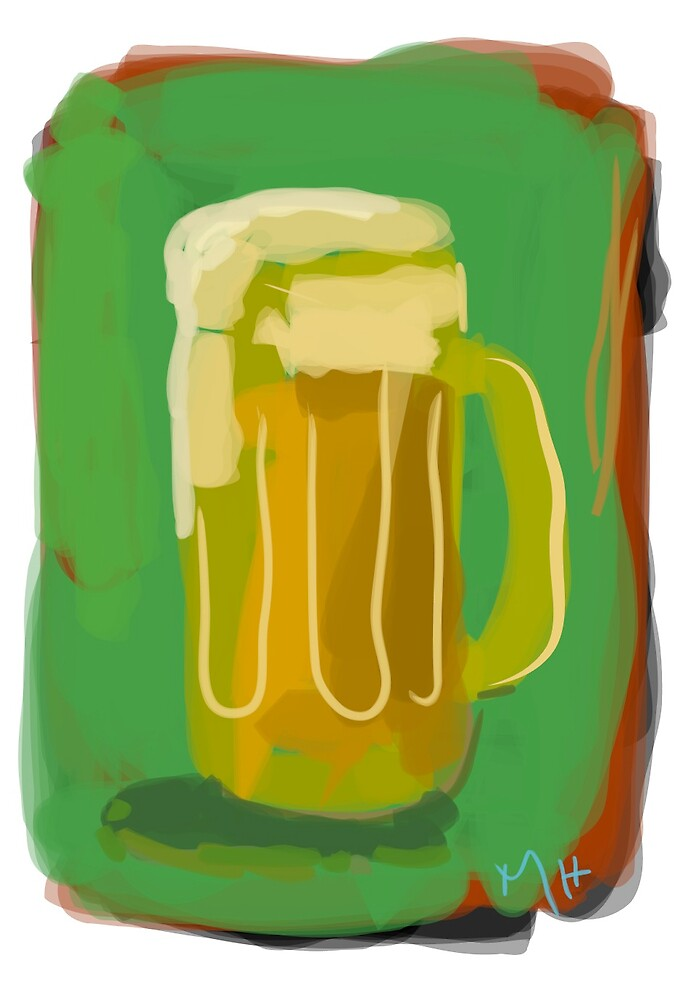Pint of Beer by Martin Howard
