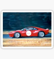 Ferrari 288 GTO.(From an acrylic painting on canvas Panel) Sticker