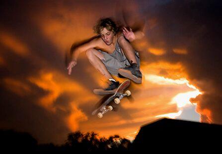 Skater Sunset by Caseyddtge