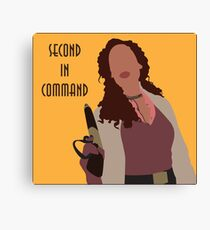 Zoe Washburn - Second in Command Canvas Print