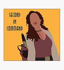 Zoe Washburn - Second in Command Photographic Print