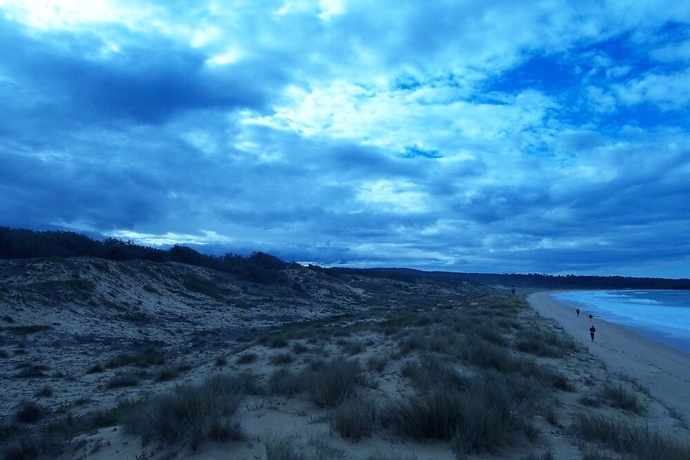 Blue Clouds by lewylizard