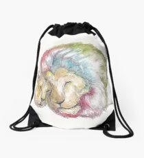 Lion Lovers Drawstring Bag