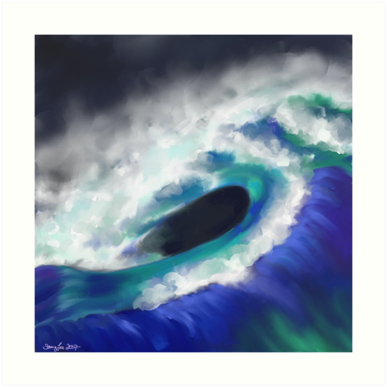 The Ocean Moves by StacyLee