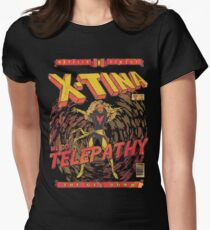 Xtina Telepathy Women's Fitted T-Shirt