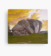 Thunderbolt's Rock Canvas Print