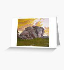 Thunderbolt's Rock Greeting Card