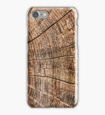 Sawn Log iPhone Case/Skin