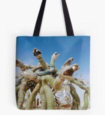 Monsters on the Playa Tote Bag