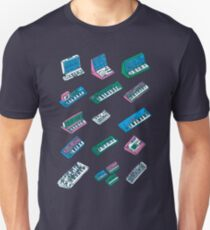Synth Affection - synthesizer tshirt Unisex T-Shirt
