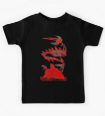 Pokemon Type Red Dragon and Volcano  Kids Tee