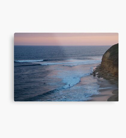 Twilight, Bells Beach Australia,Great Ocean Road Metal Print