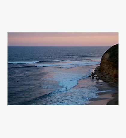 Twilight, Bells Beach Australia,Great Ocean Road Photographic Print