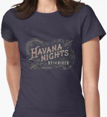 Havana Nights Womens Fitted T-Shirt