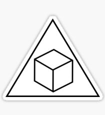 Delta Cubes - Greendale Fraternity Shirt Sticker