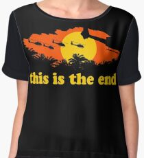 Apocalypse Now: This is the end Women's Chiffon Top