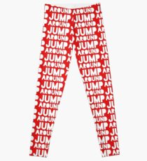Jump Around Graphic Leggings