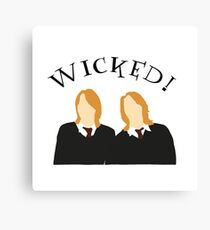 Wicked! Canvas Print