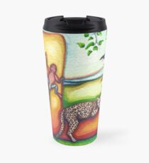Alphabet Letter L Travel Mug