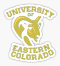 University of Eastern Colorado Sticker