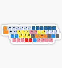 Avid Keyboard Sticker