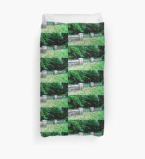 Stone wall and gate, Donegal, Ireland Duvet Cover