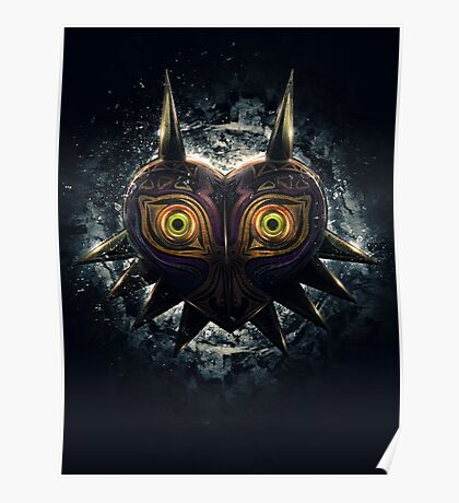 The Epic Evil of Majora's Mask Poster