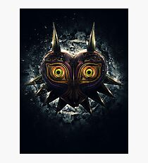 The Epic Evil of Majora's Mask Photographic Print