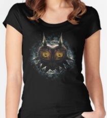 The Epic Evil of Majora's Mask Women's Fitted Scoop T-Shirt