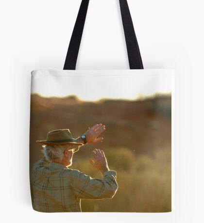 Desert Glare,Simpson Desert,Australia Tote Bag